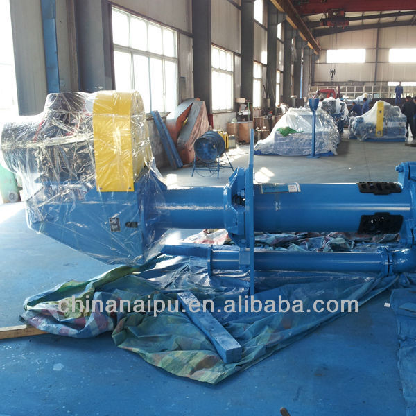 Chinese manufacturer High efficiency rubber impeller centrifugal open well submersible water pumps