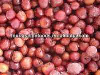 Supply frozen sour cherry good quality four season foods