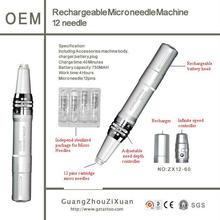 rechargeable microneedle therapy machine