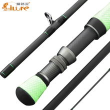 "2.28m 7"" 5-6# Carbon Rod Ilure Brand Fly Fishing Rod"