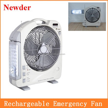 12 inch Usha Rechargeable Fan light with radio