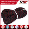 NTR wholesale high quality 3 strand climbing rope