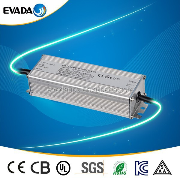 CE UL approved single output type waterproof led driver mini