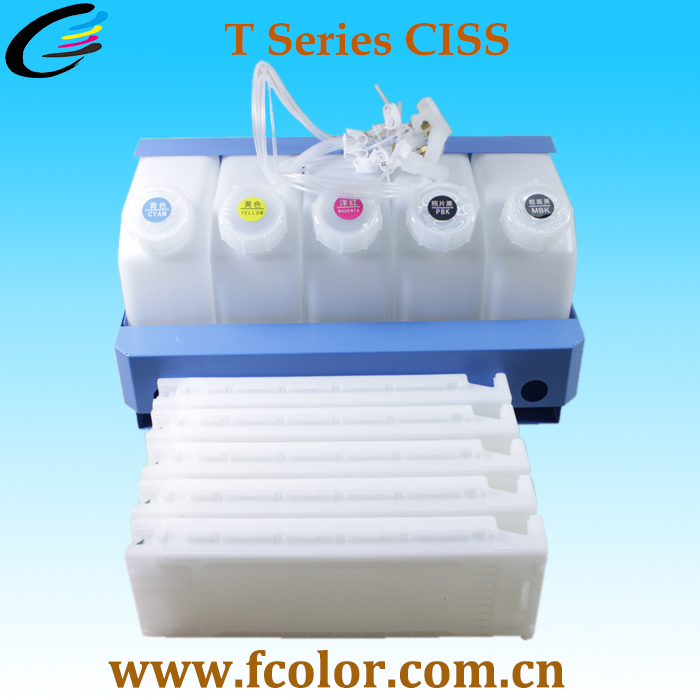Continuous Ink Supply System CISS for Epson SureColor T7080 T3080 T5080
