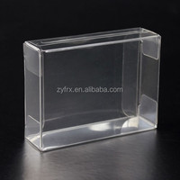 Customized see through plastic soap packaging box
