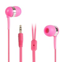 hot sale led light earphone with mic