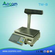 Cheap heavy duty electronic pricing scale machines for supermarket