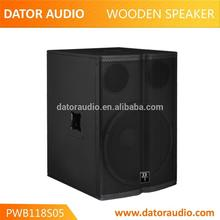 Since 2012 for all pro audio 15 inch 2 way wood cabinet speaker box