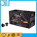 Natural and Organic Kosher Original Italy Mixpresso Qahwa CARDAMOM espresso 50 coffee capsules compatible for Nespresso machine