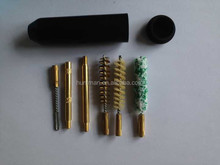 7pcs Plastic Lightweight Pistol Cleaning Kit with Cotton/ Nylon/ Bronze Bore Cleaners