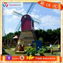 Unique crafts to make and sell fiberglass model garden decoration windmill