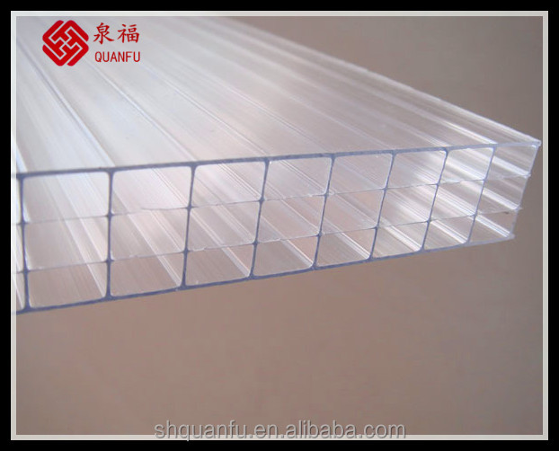 nylon mesh roll polycarbonate sun hollow / solid sheet /panels high impact ten years warranty 20mm