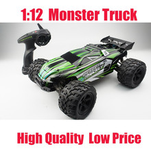 2017 amazon hot sell 1:12 Monster truck 4WD high speed off-road rc car 2.4GHz