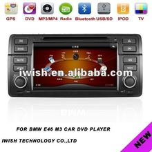 double dins 7inch iwish car stereo for BMW E46 M3 Android 4.0