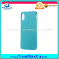Soft TPU candy color back cover case for iphone 8