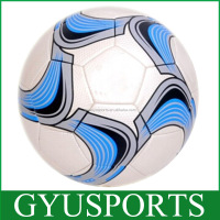 Official size 5# 4# cheap promotion machined stiched soccer ball in bulk