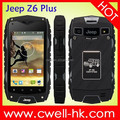 jeep z6 plus MTK6582 quad core ip68 waterproof rugged phone