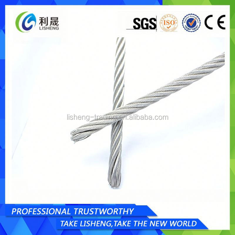 "7x7 1/16"" Galvanized Steel Wire Rope"