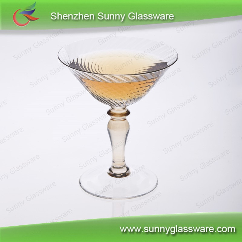 colored  martini  cup wine glasses  wholesale
