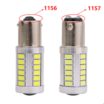 1156 33 SMD 5050 Ba15s Car LED Bulb 12V 24V 5w White LED Backup/ Turning /Reversing Light