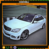 wholesale auto parts FRP material WD style body kit for 2007-2011C-CLASS w204 c200 tuning teile