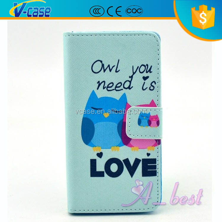 Cute Night Eiffel Tower Cartoon TPU Case Leather Cover Skin For Sony Xperia Z L36H 2013 c6603