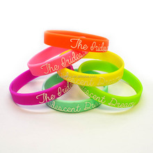 Promotion thin silicone bracelet for babies