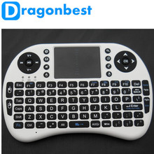 I8 Air Mouse 2.4G Mini Wireless Keyboard Touch Pad Backlight Keybord