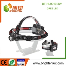 Manufacturer Wholesale 3 Modes Light Strobe Function High Power Zoom best camping headlamp