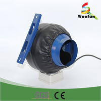 "6"" industrial ventilation exhaust fan"