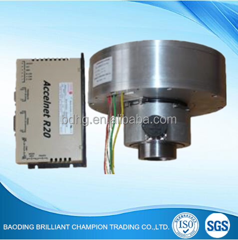 Sine wave brushless direct drive motor
