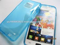 TPU S Line Mobile phone Case For Samsung galaxy s2 I9100
