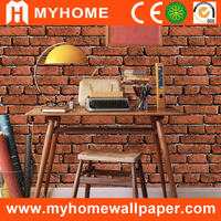 New fashion home decor room wall stickers Brick 3D wallpaper