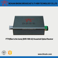 Strong controllability 1310 nm/1550 nm wavelength CATV household optical receiver with dounle wavelength