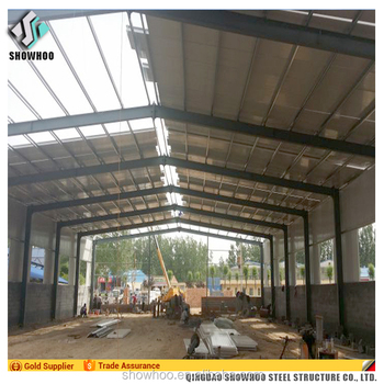 Light steel industrial shed designs cheap large span prefab house steel structure building warehouse
