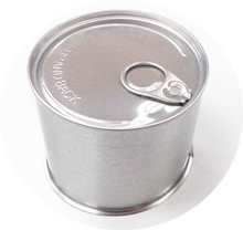 Custom printed round shaped tin cans for food canning