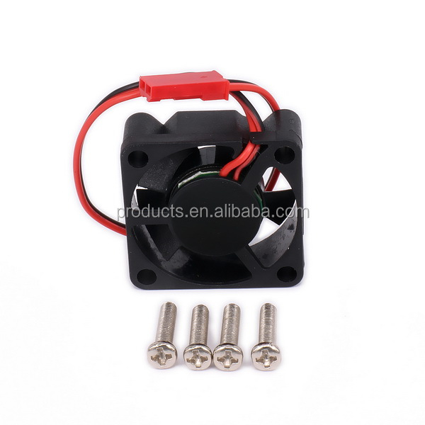 Motor Cooling Heatsink Heat Sink Single Cooling Fan Only 30*30mm JST Plug For RC Hobby Model Car/Boat Motor Or ESC