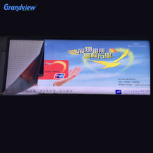 Public advertising large size flex banner fabric led sign board with UV printing