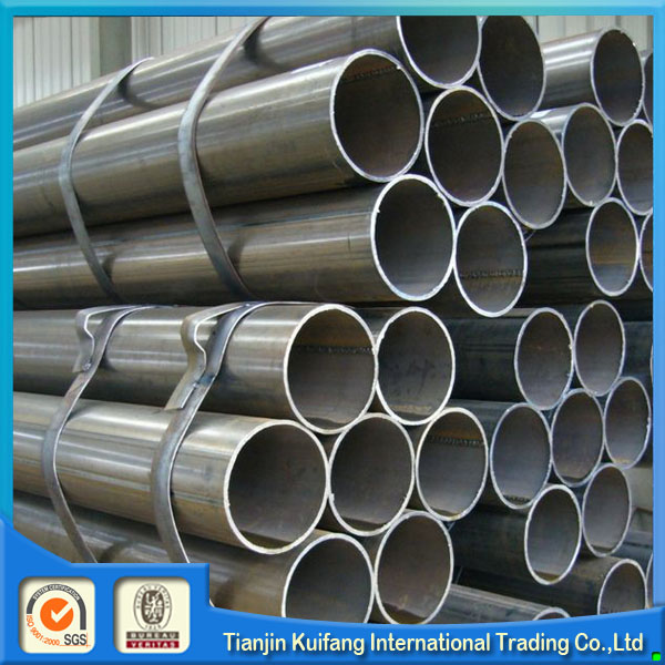 Manufacturer ERW LASW round steel pipe in China