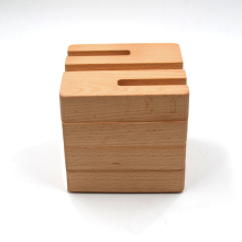 Factory directly supply 4pcs per set solid wood <strong>paper</strong>/ book clips beech wood office storage box