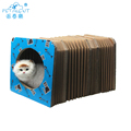 NEW Design Cat Scratcher Board Sisall Scratcher Cat tunnel Toy