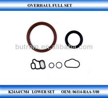 Low Set engine kit crankshaft oil seal set for K24A4 CM4 2.4L