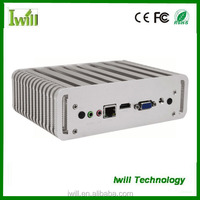 IWILL Nano itx Haswell core i3 processor 4010U fanless Industrial pc