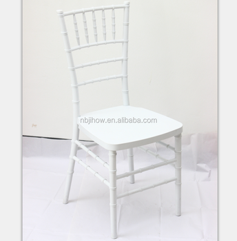 factory price white wedding chaiviari chair resin