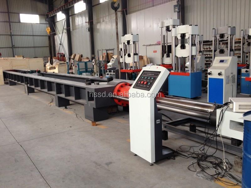 Horizontal Hydraulic Puller : Horizontal tensile testing machine t wire rope