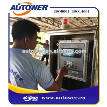 oil depot PLC batch controller for control valve,flow meter,pump,level