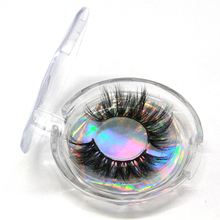 Dramatic long 5d mink lashes 25mm luxury private label custom package 3d mink eyelashes