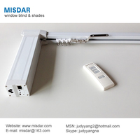 Motorized Curtain Track, electric curtain rail, motorized curtain rod