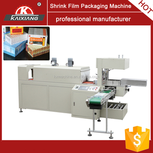 automatic wrapping machine for carton box