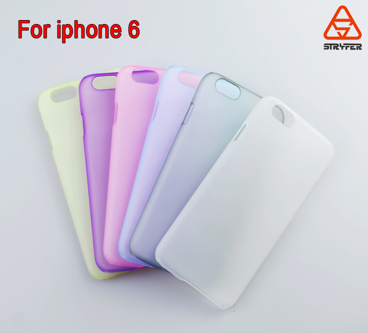 Biaoxin manufactory oem accept pc clear plastic cell phonecase for iphone 6 case cover,for painting clear rubber case
